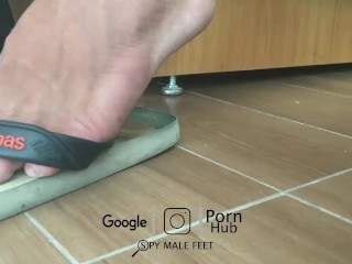 Spy Male Feet